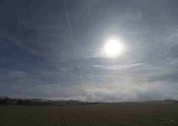 day fog near Ulm (Germny)